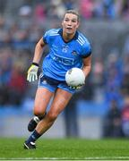 15 September 2019; Jennifer Dunne of Dublin during the TG4 All-Ireland Ladies Football Senior Championship Final match between Dublin and Galway at Croke Park in Dublin. Photo by Piaras Ó Mídheach/Sportsfile