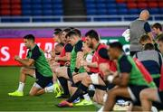 20 September 2019; Conor Murray during the Ireland captain's run ahead of their opening Pool A game against Scotland at the International Stadium in Yokohama, Japan. Photo by Ramsey Cardy/Sportsfile
