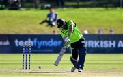 20 September 2019; Andrew Balbirnie of Ireland bats during the T20 International Tri Series match between Ireland and Scotland at Malahide Cricket Club in Dublin. Photo by Piaras Ó Mídheach/Sportsfile