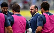 21 September 2019; Argentina head coach Mario Ledesma speaks to his players prior to the 2019 Rugby World Cup Pool C match between France and Argentina at the Tokyo Stadium in Chofu, Japan. Photo by Brendan Moran/Sportsfile