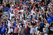 21 September 2019; France supporters prior to the start of the 2019 Rugby World Cup Pool C match between France and Argentina at the Tokyo Stadium in Chofu, Japan. Photo by Brendan Moran/Sportsfile