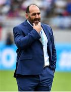 21 September 2019; Argentina head coach Mario Ledesma prior to the 2019 Rugby World Cup Pool C match between France and Argentina at the Tokyo Stadium in Chofu, Japan. Photo by Brendan Moran/Sportsfile