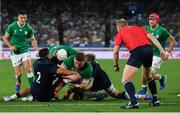 22 September 2019; Tadhg Furlong of Ireland scores his side's third try during the 2019 Rugby World Cup Pool A match between Ireland and Scotland at the International Stadium in Yokohama, Japan. Photo by Ramsey Cardy/Sportsfile