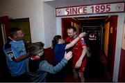 21 September 2019; Conan Byrne of Shelbourne following the SSE Airtricity League First Division match between Shelbourne and Limerick FC at Tolka Park in Dublin. Photo by Stephen McCarthy/Sportsfile