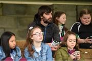 22 September 2019; Fermanagh Manager Ryan McMenamin watching from the stand during the Fermanagh County Senior Club Football Championship Final match between Derrygonnelly Harps and Roslea Shamrocks at Brewster Park in Enniskillen, Fermanagh. Photo by Oliver McVeigh/Sportsfile