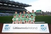 24 September 2019; Michael Davitt's GAC Swatragh players, Co. Derry, during the Littlewoods Ireland Ulster GAA Go Games Provincial Days' in Croke Park in Dublin. This year over 6,000 boys and girls aged between six and twelve represented their clubs in a series of mini blitzes and – just like their heroes – got to play in Croke Park.  Photo by Harry Murphy/Sportsfile