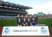 24 September 2019; St Finbarrs players, Co. Derry, during the Littlewoods Ireland Ulster GAA Go Games Provincial Days' in Croke Park in Dublin. This year over 6,000 boys and girls aged between six and twelve represented their clubs in a series of mini blitzes and – just like their heroes – got to play in Croke Park.  Photo by Harry Murphy/Sportsfile