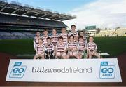 24 September 2019; Slaughtneil players, Co. Derry, during the Littlewoods Ireland Ulster GAA Go Games Provincial Days' in Croke Park in Dublin. This year over 6,000 boys and girls aged between six and twelve represented their clubs in a series of mini blitzes and – just like their heroes – got to play in Croke Park.  Photo by Harry Murphy/Sportsfile