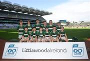 24 September 2019; Na Magha players, Co. Derry, during the Littlewoods Ireland Ulster GAA Go Games Provincial Days' in Croke Park in Dublin. This year over 6,000 boys and girls aged between six and twelve represented their clubs in a series of mini blitzes and – just like their heroes – got to play in Croke Park.  Photo by Harry Murphy/Sportsfile