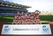 24 September 2019; Banagher players, Co. Derry, during the Littlewoods Ireland Ulster GAA Go Games Provincial Days' in Croke Park in Dublin. This year over 6,000 boys and girls aged between six and twelve represented their clubs in a series of mini blitzes and – just like their heroes – got to play in Croke Park.  Photo by Harry Murphy/Sportsfile