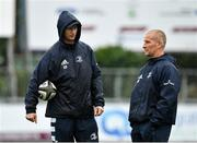 23 september 2019; Head coach Leo Cullen, left, and senior coach Stuart Lancaster during Leinster Rugby squad training at Energia Park in Donnybrook, Dublin. Photo by Seb Daly/Sportsfile