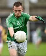 22 September 2019; Brendan Sherlock of Roslea Shamrocks during the Fermanagh County Senior Club Football Championship Final match between Derrygonnelly Harps and Roslea Shamrocks at Brewster Park in Enniskillen, Fermanagh. Photo by Oliver McVeigh/Sportsfile