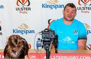 23rd September 2019; Ulster Rugby's new signing Jack McGrath during an Ulster Rugby Match Briefing ahead of Ulster's opening PRO14 League clash against the Ospreys at Kingspan Stadium on Friday. Photo by John Dickson/Sportsfile