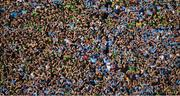 14 September 2019; A general view of spectators on Hill 16 during the GAA Football All-Ireland Senior Championship Final Replay between Dublin and Kerry at Croke Park in Dublin. Photo by Piaras Ó Mídheach/Sportsfile