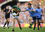 14 September 2019; David Clifford of Kerry in action against Michael Fitzsimons of Dublin during the GAA Football All-Ireland Senior Championship Final Replay between Dublin and Kerry at Croke Park in Dublin. Photo by Piaras Ó Mídheach/Sportsfile