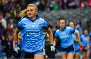 15 September 2019; Carla Rowe of Dublin ahead of the TG4 All-Ireland Ladies Football Senior Championship Final match between Dublin and Galway at Croke Park in Dublin. Photo by Ramsey Cardy/Sportsfile