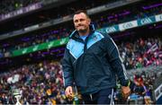 15 September 2019; Dublin manager Mick Bohan ahead of the TG4 All-Ireland Ladies Football Senior Championship Final match between Dublin and Galway at Croke Park in Dublin. Photo by Ramsey Cardy/Sportsfile