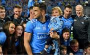 14 September 2019; Dublin footballer Bernard Brogan with his son Donagh after the GAA Football All-Ireland Senior Championship Final Replay between Dublin and Kerry at Croke Park in Dublin. Photo by Piaras Ó Mídheach/Sportsfile