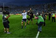 14 September 2019; Dublin captain Stephen Cluxton waves to the crowd after the GAA Football All-Ireland Senior Championship Final Replay between Dublin and Kerry at Croke Park in Dublin. Photo by Piaras Ó Mídheach/Sportsfile