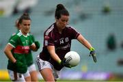 6 July 2019; Roisin Leonard of Galway during the 2019 TG4 Connacht Ladies Senior Football Final replay between Galway and Mayo at the LIT Gaelic Grounds in Limerick. Photo by Brendan Moran/Sportsfile