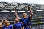 15 September 2019; Aisling McCarthy of Tipperary celebrates after the TG4 All-Ireland Ladies Football Intermediate Championship Final match between Meath and Tipperary at Croke Park in Dublin. Photo by Piaras Ó Mídheach/Sportsfile