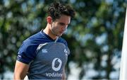 26 September 2019; Joey Carbery arrives for Ireland Rugby squad training at the Yumeria Sports Grounds in Iwata, Shizuoka Prefecture, Japan. Photo by Brendan Moran/Sportsfile
