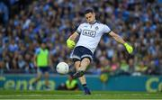 14 September 2019; Dublin captain and goalkeeper Stephen Cluxton during the GAA Football All-Ireland Senior Championship Final Replay match between Dublin and Kerry at Croke Park in Dublin. Photo by Ray McManus/Sportsfile