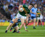 14 September 2019; Seán O'Shea of Kerry is tackled by John Small of Dublin during the GAA Football All-Ireland Senior Championship Final Replay match between Dublin and Kerry at Croke Park in Dublin. Photo by Ray McManus/Sportsfile