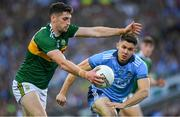 14 September 2019; Paul Geaney of Kerryin action against  during David Byrne of Dublin the GAA Football All-Ireland Senior Championship Final Replay match between Dublin and Kerry at Croke Park in Dublin. Photo by Ray McManus/Sportsfile