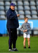 27 September 2019; Kilmacud Crokes joint manager Robbie Brennan prior to the Dublin County Senior Club Football Championship Group 1 match between Kilmacud Crokes and St Sylvester's at Parnell Park in Dublin. Photo by Harry Murphy/Sportsfile