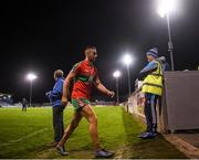 27 September 2019; James McCarthy of Ballymun Kickhams leaves the field following the Dublin County Senior Club Football Championship Group 1 match between Na Fianna and Ballymun Kickhams at Parnell Park in Dublin. Photo by Harry Murphy/Sportsfile