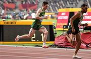 28 September 2019; Mark English of Ireland on his way to finishing 7th in his heat whilst competing in the Men's 800m during day two of the World Athletics Championships 2019 at Khalifa International Stadium in Doha, Qatar. Photo by Sam Barnes/Sportsfile