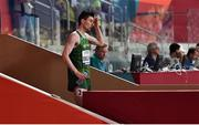 28 September 2019; Mark English of Ireland after finishing 7th in his heat whilst competing in the Men's 800m during day two of the World Athletics Championships 2019 at Khalifa International Stadium in Doha, Qatar. Photo by Sam Barnes/Sportsfile