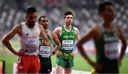 28 September 2019; Mark English of Ireland ahead of competing in the Men's 800m during day two of the World Athletics Championships 2019 at Khalifa International Stadium in Doha, Qatar. Photo by Sam Barnes/Sportsfile