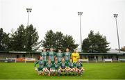 28 September 2019; St Michaels team ahead of the FAI Tom Hand Cup Final match between St Michaels and Avondale United at St Michaels FC in Tipperary. Photo by Eóin Noonan/Sportsfile
