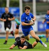28 September 2019; Rob Russell of Leinster in action against Will Griffiths of Dragons during The Celtic Cup Round 6 match between Leinster and Dragons at Energia Park in Donnybrook, Dublin. Photo by Piaras Ó Mídheach/Sportsfile