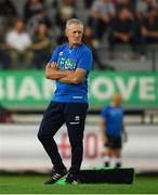 28 September 2019; Benetton head coach Kieran Crowley ahead of the Guinness PRO14 Round 1 match between Benetton and Leinster at Stadio Monigo in Treviso, Italy. Photo by Ramsey Cardy/Sportsfile