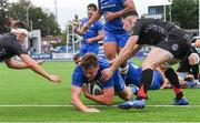 28 September 2019; Bobby Sheehan of Leinster scores a second half try during The Celtic Cup Round 6 match between Leinster and Dragons at Energia Park in Donnybrook, Dublin. Photo by Piaras Ó Mídheach/Sportsfile