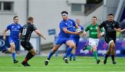 28 September 2019; Tom Clarkson of Leinster in action against Arwel Robson of Dragons during The Celtic Cup Round 6 match between Leinster and Dragons at Energia Park in Donnybrook, Dublin. Photo by Piaras Ó Mídheach/Sportsfile