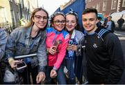 29 September 2019; Eoin Murchan poses for a picture with supporters during the Dublin Senior Football teams homecoming with the Sam Maguire Cup at Merrion Square in Dublin. Photo by David Fitzgerald/Sportsfile
