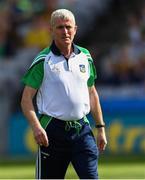 27 July 2019; Limerick manager John Kiely before the GAA Hurling All-Ireland Senior Championship Semi-Final match between Kilkenny and Limerick at Croke Park in Dublin. Photo by Piaras Ó Mídheach/Sportsfile