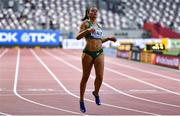 30 September 2019; Phil Healy of Ireland competing in Women's 200m during day four of the World Athletics Championships 2019 at the Khalifa International Stadium in Doha, Qatar. Photo by Sam Barnes/Sportsfile