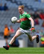 10 August 2019; Paddy Heneghan of Mayo during the Electric Ireland GAA Football All-Ireland Minor Championship Semi-Final match between Cork and Mayo at Croke Park in Dublin. Photo by Piaras Ó Mídheach/Sportsfile
