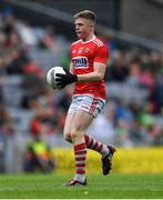 10 August 2019; Patrick Campbell of Cork during the Electric Ireland GAA Football All-Ireland Minor Championship Semi-Final match between Cork and Mayo at Croke Park in Dublin. Photo by Piaras Ó Mídheach/Sportsfile