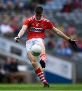 10 August 2019; Conor Corbett of Cork during the Electric Ireland GAA Football All-Ireland Minor Championship Semi-Final match between Cork and Mayo at Croke Park in Dublin. Photo by Piaras Ó Mídheach/Sportsfile
