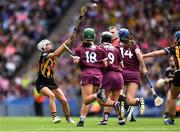 8 September 2019; Davina Tobin of Kilkenny during the Liberty Insurance All-Ireland Senior Camogie Championship Final match between Galway and Kilkenny at Croke Park in Dublin. Photo by Piaras Ó Mídheach/Sportsfile
