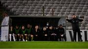 2 October 2019; Bohemians manager Craig Sexton during the UEFA Youth League First Round First Leg between Bohemians and PAOK at Dalymount Park in Dublin. Photo by David Fitzgerald/Sportsfile