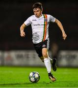 2 October 2019; Thomas Considine of Bohemians during the UEFA Youth League First Round First Leg between Bohemians and PAOK at Dalymount Park in Dublin. Photo by David Fitzgerald/Sportsfile