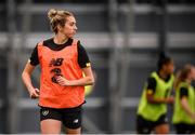 4 October 2019; Megan Connolly during a Republic of Ireland women's team training session at the National Indoor Arena in Abbotstown, Dublin.  Photo by Stephen McCarthy/Sportsfile