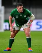 3 October 2019; Tadhg Furlong of Ireland during the 2019 Rugby World Cup Pool A match between Ireland and Russia at the Kobe Misaki Stadium in Kobe, Japan. Photo by Brendan Moran/Sportsfile